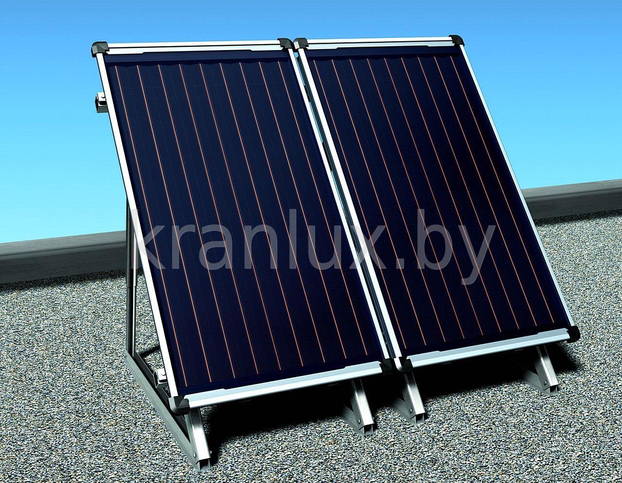Солнечный коллектор для отопления дома своими руками